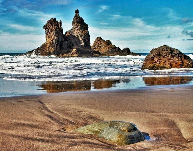 Playa de Benijo Islas Canarias