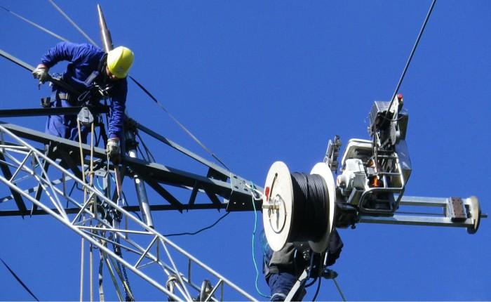fibra optica enredada