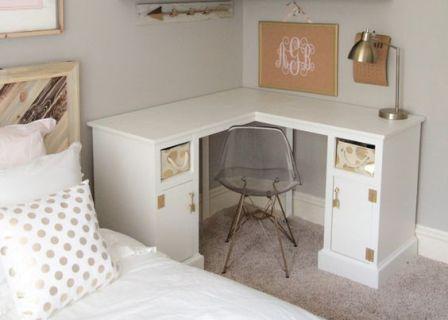 nuevas tendencias en escritorios de esquina estilo vintage